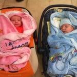 başarılı ikiz tüp bebek